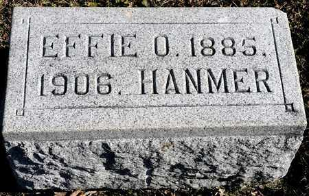 HANMER, EFFIE O - Richland County, Ohio | EFFIE O HANMER - Ohio Gravestone Photos
