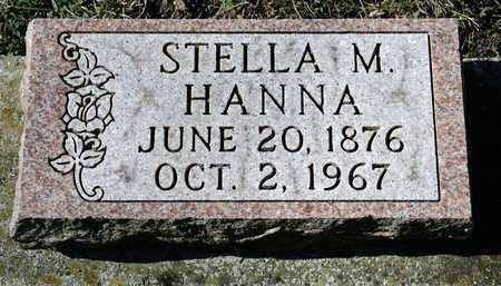 HANNA, STELLA M - Richland County, Ohio | STELLA M HANNA - Ohio Gravestone Photos