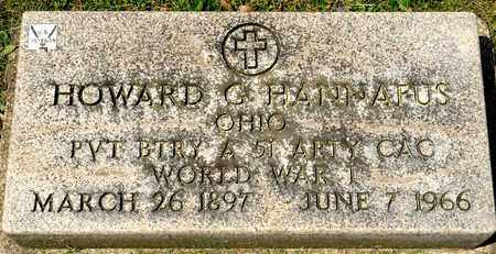 HANNAFUS, HOWARD G - Richland County, Ohio | HOWARD G HANNAFUS - Ohio Gravestone Photos