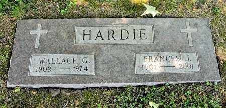 HARDIE, FRANCES J - Richland County, Ohio | FRANCES J HARDIE - Ohio Gravestone Photos