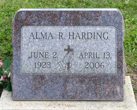 HARDING, ALMA RUTH - Richland County, Ohio | ALMA RUTH HARDING - Ohio Gravestone Photos