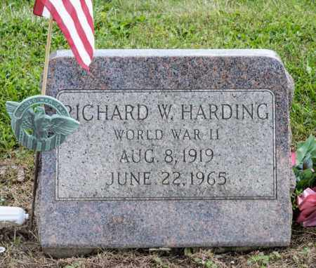 HARDING, RICHARD W - Richland County, Ohio | RICHARD W HARDING - Ohio Gravestone Photos