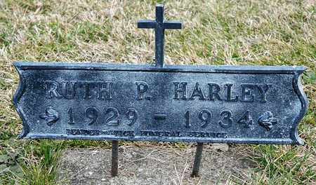 HARLEY, RUTH P - Richland County, Ohio | RUTH P HARLEY - Ohio Gravestone Photos