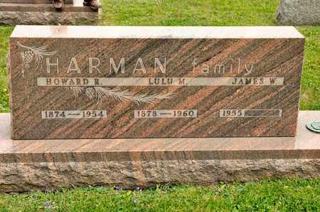 HARMAN, LULU M - Richland County, Ohio | LULU M HARMAN - Ohio Gravestone Photos