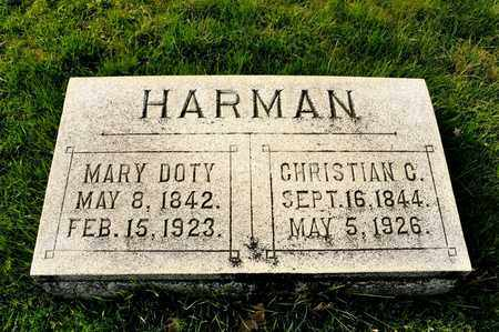 HARMAN, CHRISTIAN C - Richland County, Ohio | CHRISTIAN C HARMAN - Ohio Gravestone Photos