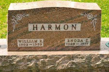 HARMON, RHODA E - Richland County, Ohio | RHODA E HARMON - Ohio Gravestone Photos
