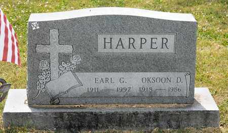 HARPER, OKSOON D - Richland County, Ohio | OKSOON D HARPER - Ohio Gravestone Photos
