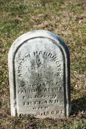HARRINGTON, ANDREW - Richland County, Ohio | ANDREW HARRINGTON - Ohio Gravestone Photos