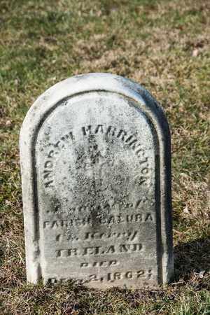 HARRINGTON, ANDREW - Richland County, Ohio | ANDREW HARRINGTON - Ohio Gravestone Photos