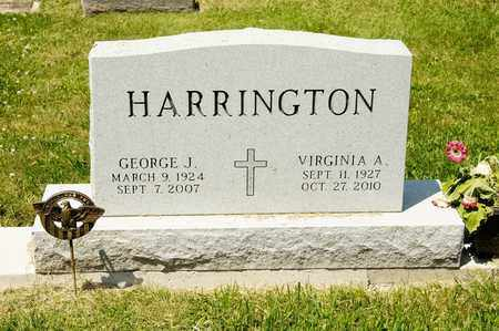 HARRINGTON, GEORGE J - Richland County, Ohio | GEORGE J HARRINGTON - Ohio Gravestone Photos