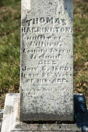 HARRINGTON, THOMAS - Richland County, Ohio | THOMAS HARRINGTON - Ohio Gravestone Photos