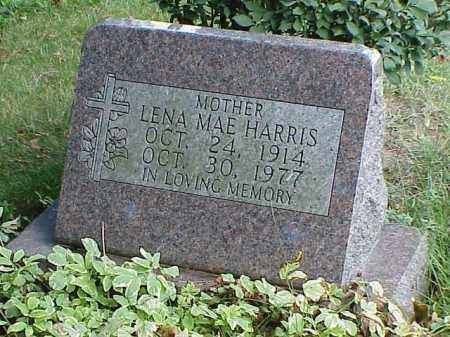 HARRIS, LENA MAE - Richland County, Ohio | LENA MAE HARRIS - Ohio Gravestone Photos