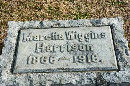 HARRISON, MARETTA - Richland County, Ohio | MARETTA HARRISON - Ohio Gravestone Photos