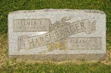 HARSHBARGER, ELMER E - Richland County, Ohio | ELMER E HARSHBARGER - Ohio Gravestone Photos