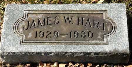 HART, JAMES W - Richland County, Ohio | JAMES W HART - Ohio Gravestone Photos