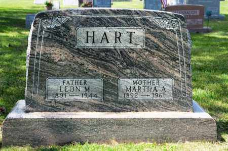HART, MARTHA A - Richland County, Ohio | MARTHA A HART - Ohio Gravestone Photos