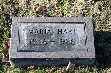 HART, MARIA - Richland County, Ohio | MARIA HART - Ohio Gravestone Photos