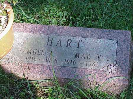 HART, MAE V. - Richland County, Ohio | MAE V. HART - Ohio Gravestone Photos
