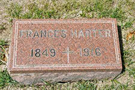 HARTER, FRANCES - Richland County, Ohio | FRANCES HARTER - Ohio Gravestone Photos