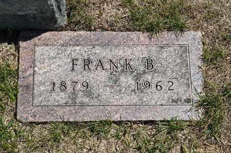 HARTER, FRANK B - Richland County, Ohio | FRANK B HARTER - Ohio Gravestone Photos
