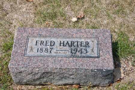 HARTER, FRED - Richland County, Ohio | FRED HARTER - Ohio Gravestone Photos