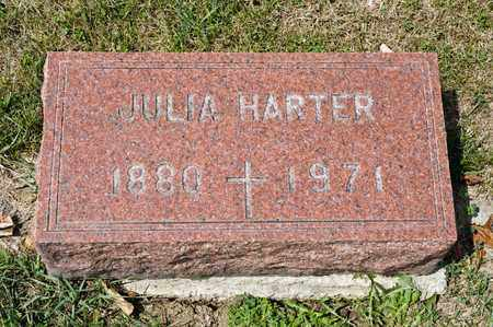 HARTER, JULIA - Richland County, Ohio | JULIA HARTER - Ohio Gravestone Photos