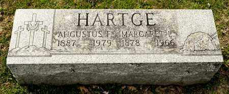 HARTGE, MARGARET L - Richland County, Ohio | MARGARET L HARTGE - Ohio Gravestone Photos