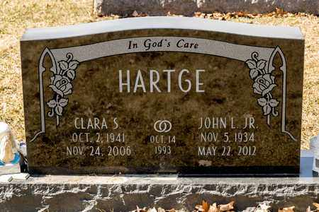 HARTGE JR, JOHN L - Richland County, Ohio | JOHN L HARTGE JR - Ohio Gravestone Photos