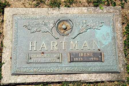 HARTMAN, IRENE - Richland County, Ohio | IRENE HARTMAN - Ohio Gravestone Photos