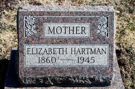 HARTMAN, ELIZABETH - Richland County, Ohio | ELIZABETH HARTMAN - Ohio Gravestone Photos