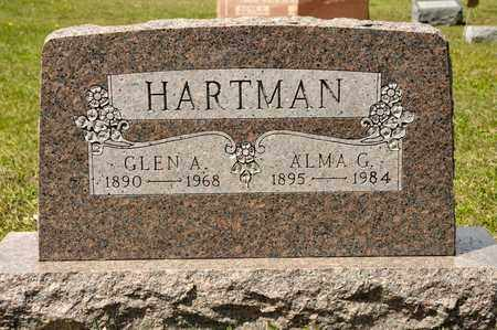HARTMAN, GLEN A - Richland County, Ohio | GLEN A HARTMAN - Ohio Gravestone Photos