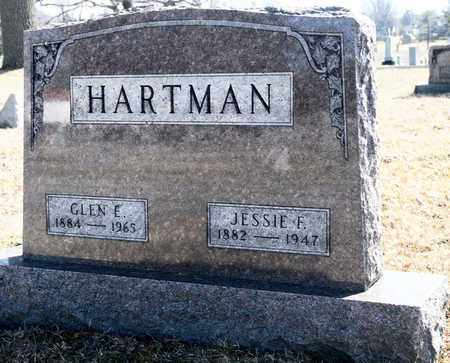 HARTMAN, GLEN E - Richland County, Ohio | GLEN E HARTMAN - Ohio Gravestone Photos