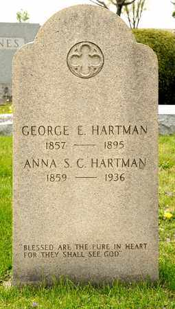 HARTMAN, GEORGE E - Richland County, Ohio | GEORGE E HARTMAN - Ohio Gravestone Photos