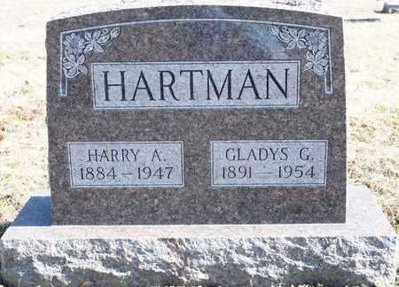 HARTMAN, HARRY A - Richland County, Ohio | HARRY A HARTMAN - Ohio Gravestone Photos