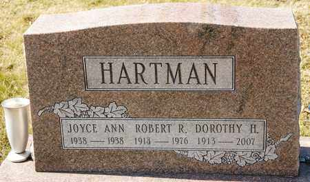 HARTMAN, ROBERT R - Richland County, Ohio | ROBERT R HARTMAN - Ohio Gravestone Photos