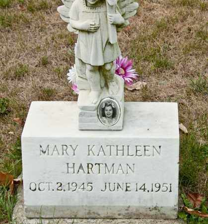 HARTMAN, MARY KATHLEEN - Richland County, Ohio | MARY KATHLEEN HARTMAN - Ohio Gravestone Photos
