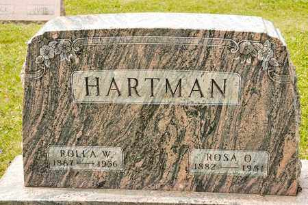 HARTMAN, ROSA O - Richland County, Ohio | ROSA O HARTMAN - Ohio Gravestone Photos