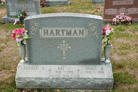 HARTMAN, JAMES W - Richland County, Ohio | JAMES W HARTMAN - Ohio Gravestone Photos