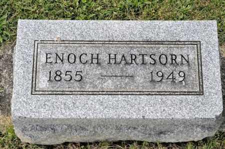 HARTSORN, ENOCH - Richland County, Ohio | ENOCH HARTSORN - Ohio Gravestone Photos