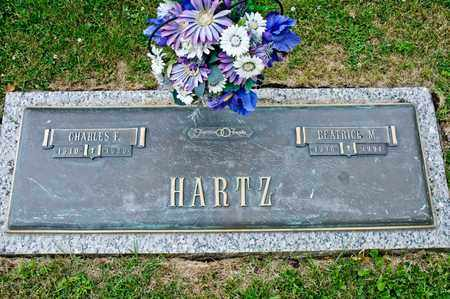 HARTZ, BEATRICE M - Richland County, Ohio | BEATRICE M HARTZ - Ohio Gravestone Photos