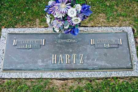 HARTZ, CHARLES F - Richland County, Ohio | CHARLES F HARTZ - Ohio Gravestone Photos