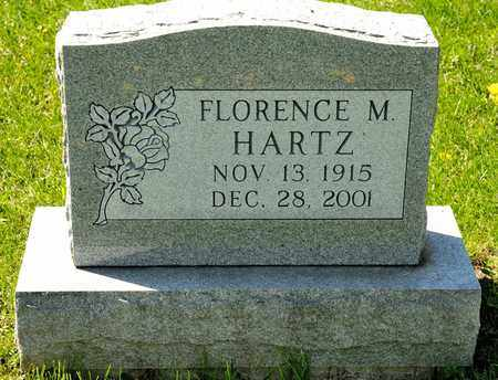 HARTZ, FLORENCE M - Richland County, Ohio | FLORENCE M HARTZ - Ohio Gravestone Photos