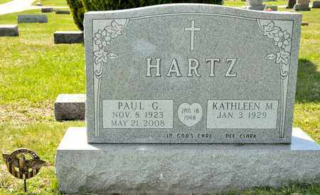 HARTZ, PAUL G - Richland County, Ohio | PAUL G HARTZ - Ohio Gravestone Photos