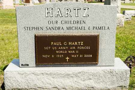 HARTZ, PAUL G - Richland County, Ohio | PAUL G HARTZ - Ohio Gravestone Photos