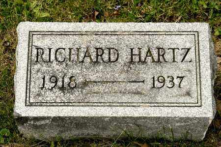 HARTZ, RICHARD - Richland County, Ohio | RICHARD HARTZ - Ohio Gravestone Photos