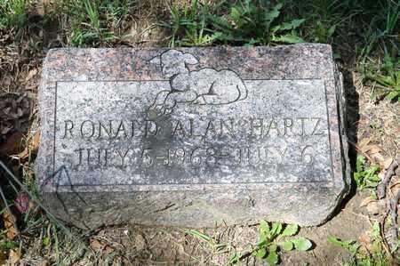 HARTZ, RONALD ALAN - Richland County, Ohio | RONALD ALAN HARTZ - Ohio Gravestone Photos