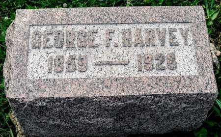 HARVEY, GEORGE F - Richland County, Ohio | GEORGE F HARVEY - Ohio Gravestone Photos