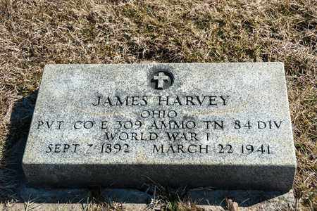 HARVEY, JAMES - Richland County, Ohio | JAMES HARVEY - Ohio Gravestone Photos