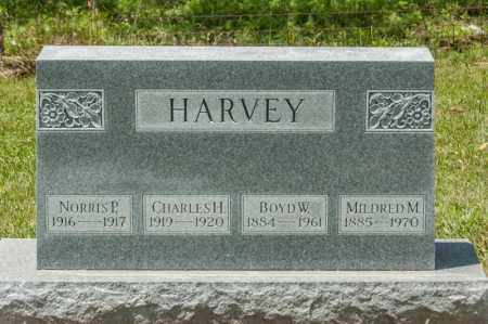 HARVEY, BOYD W - Richland County, Ohio | BOYD W HARVEY - Ohio Gravestone Photos