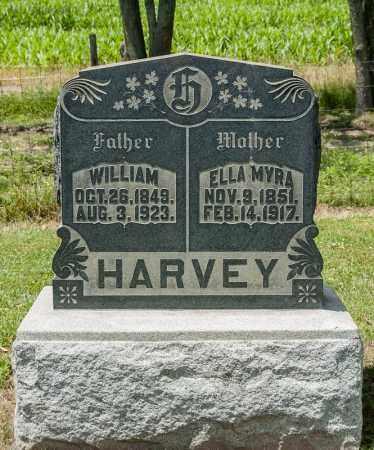 HARVEY, ELLA MYRA - Richland County, Ohio | ELLA MYRA HARVEY - Ohio Gravestone Photos